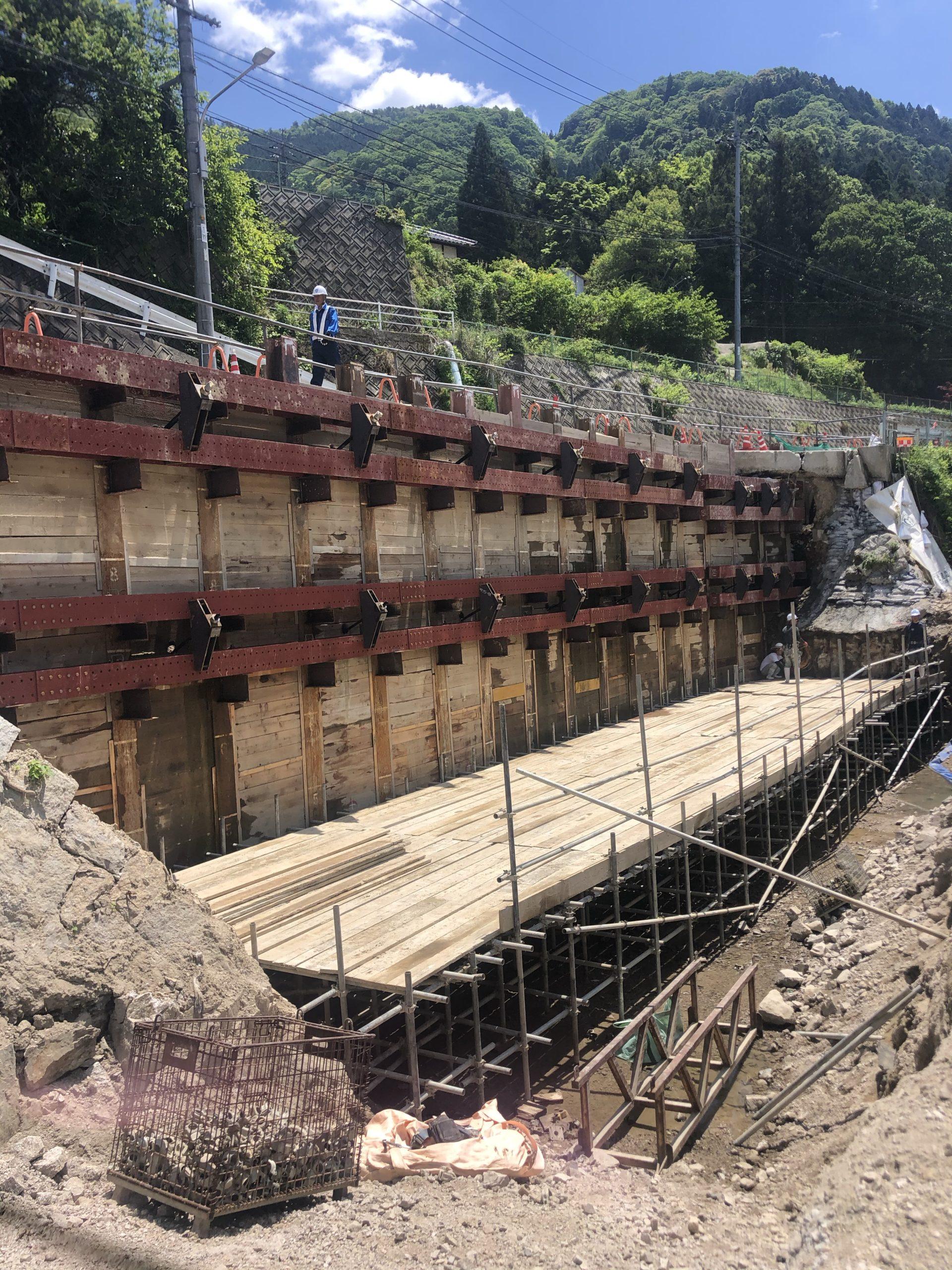 河川災害復旧工事
